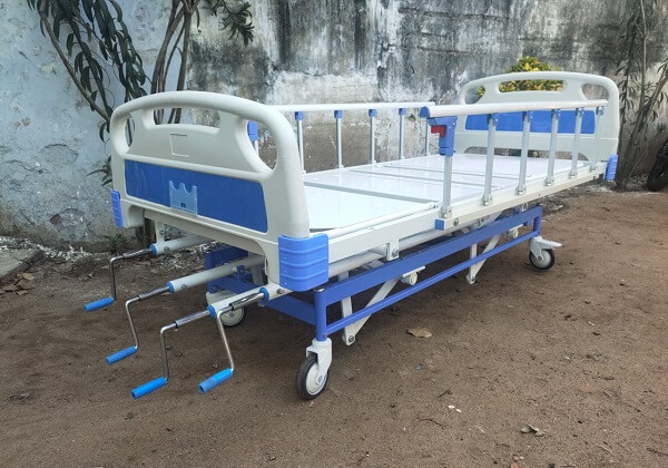 Manual Fixed Height ICU Bed